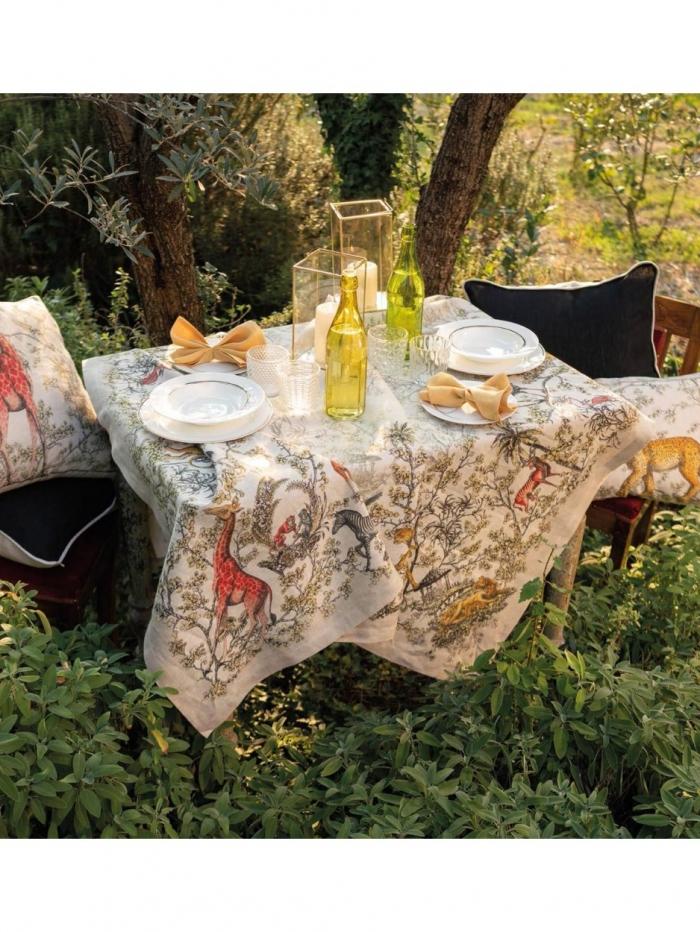 Τραβέρσα λινή 45x170 Tessitura Toscana Telerie
